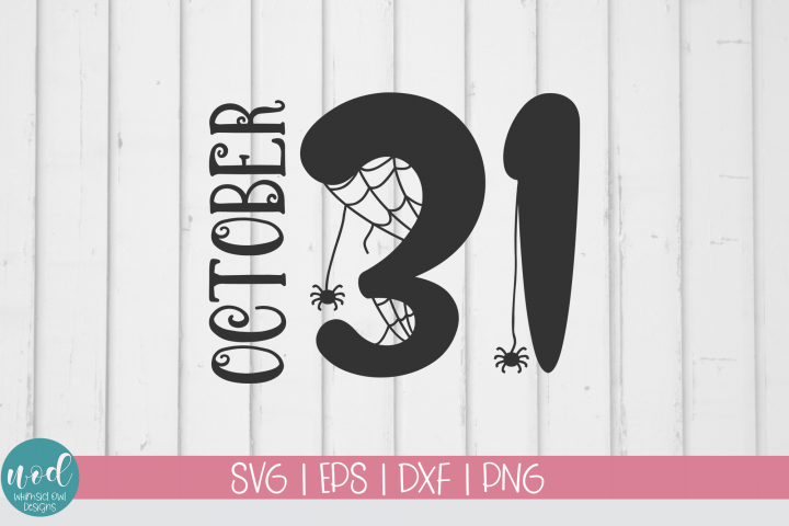 October 31 SVG File