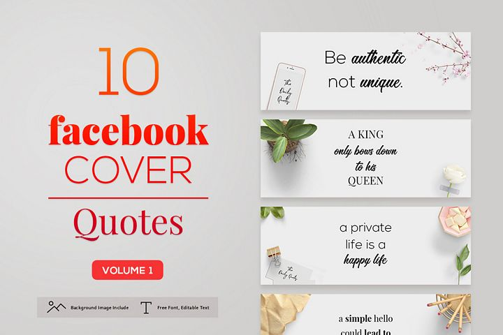 Facebook Cover Quotes Vol. 1