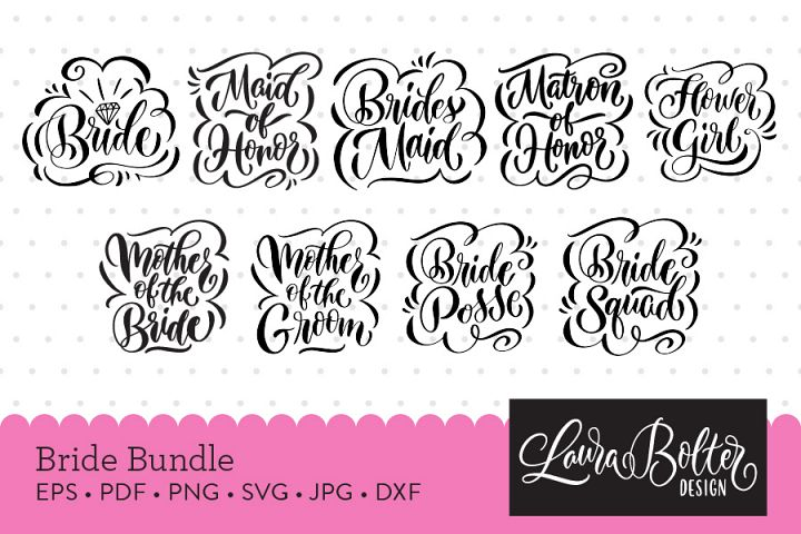 Bride Cut File Bundle