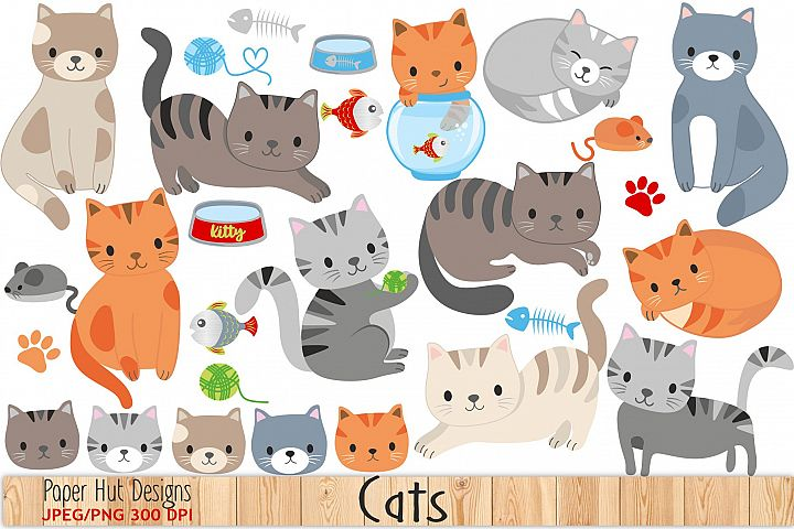 Cute Cat Clipart