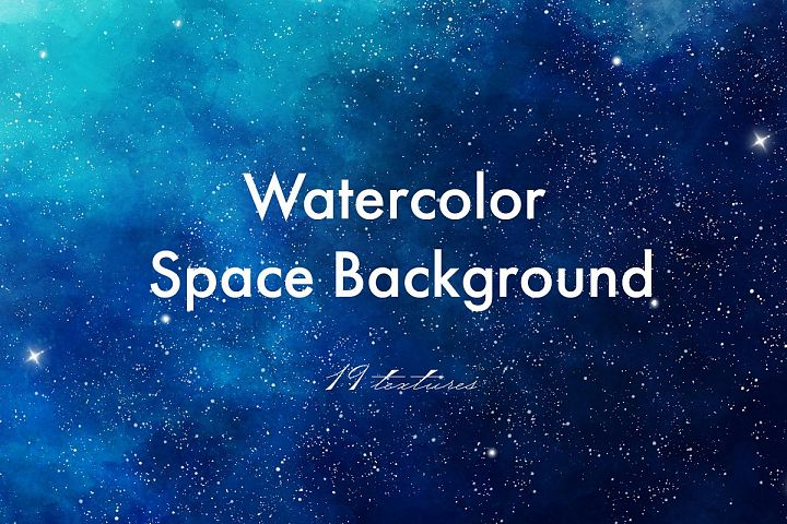 Watercolor Starry Sky