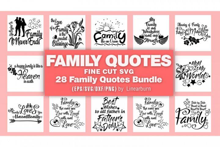FAMILY QUOTES BUNDLES Vol-01