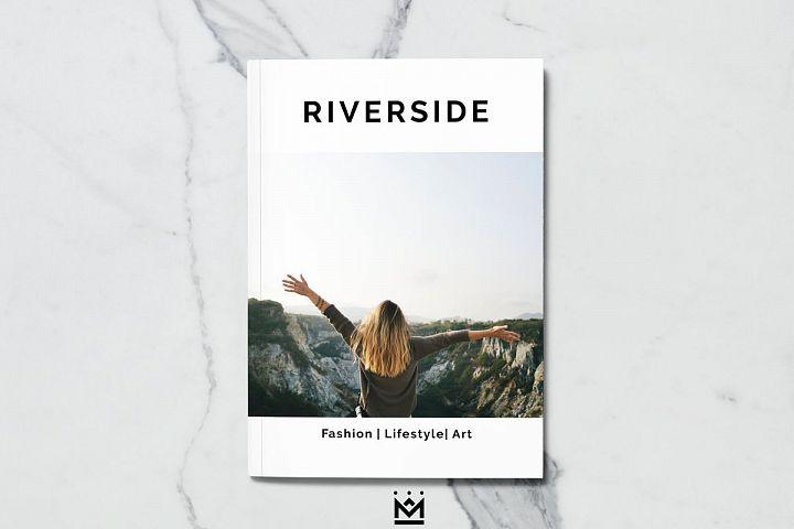 Riverside Magazine Template