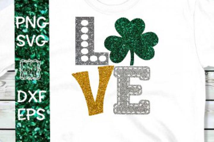 Irish- Shamrock - St. Patricks Day SVG