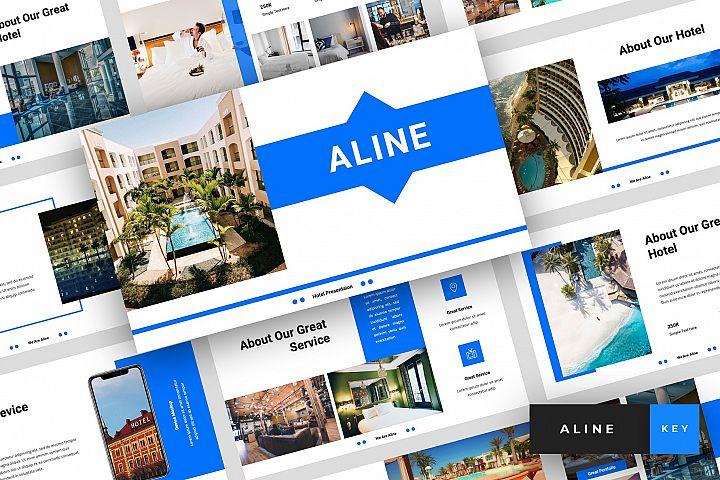 Aline - Hotel Keynote Template