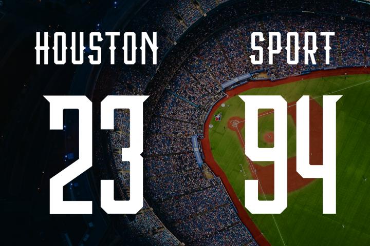 Houston Sports Font Family example image 7
