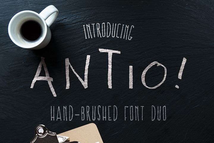 ANTIO! Prokopis | Font Duo