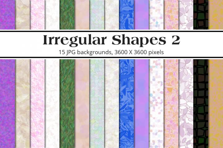 Irregular Shapes 2 Background Pack