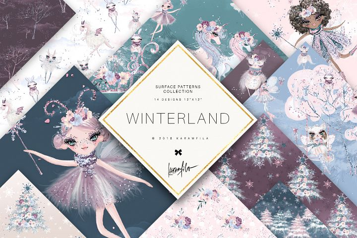 Winter Fairies Patterns