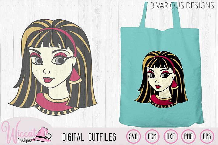 Cleopatra svg, Girl face svg, Holiday shirt svg