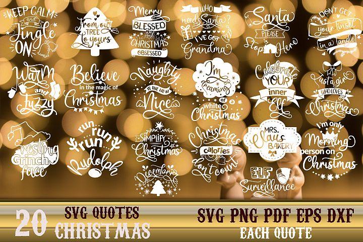 Christmas bundle svg Merry Christmas Winter svg vol 5