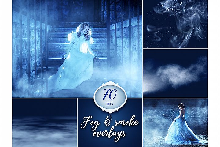 70 Fog and Smoke Photo Overlays