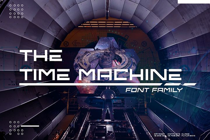 The Time Machine Font Family