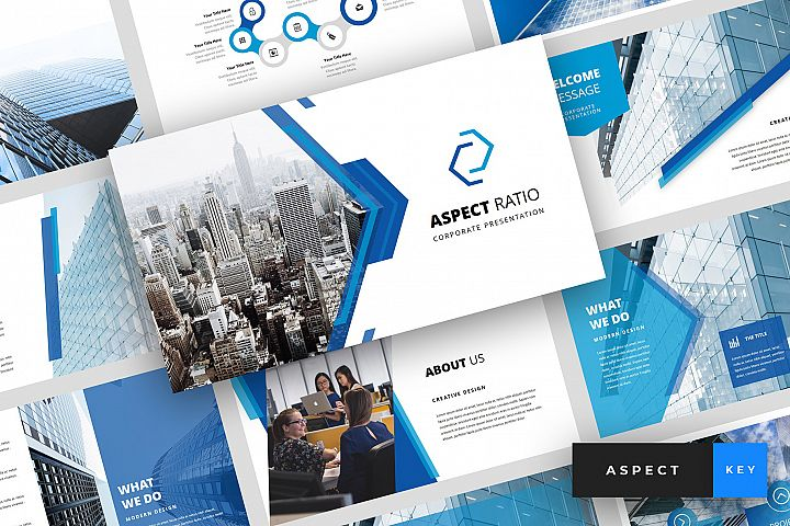 Aspect - Corporate Keynote Template