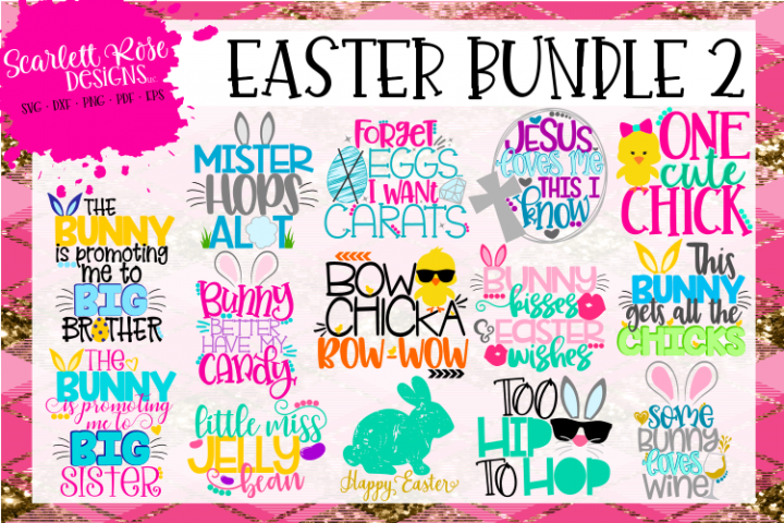 Easter SVG Bundle 2