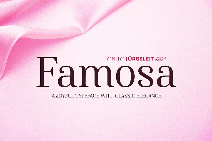 Famosa | Joyful Elegance