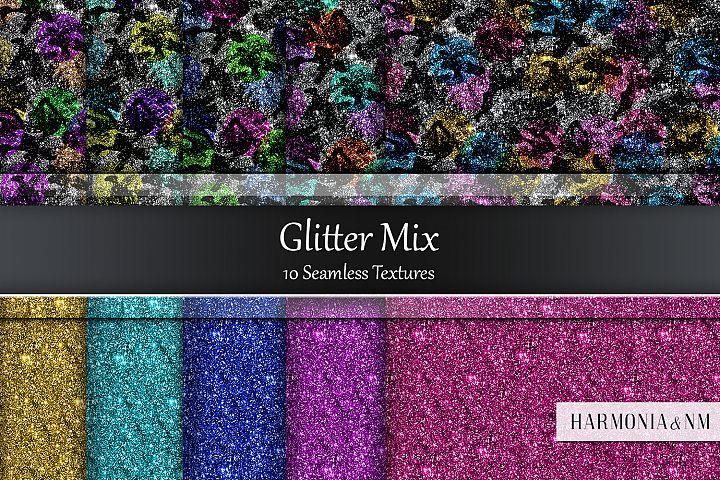 Glitter Mix 10 Seamless Textures