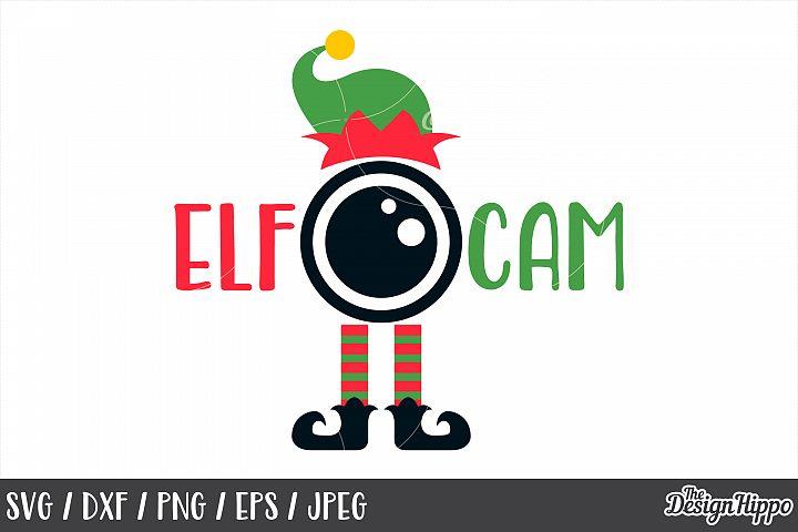 Elf Cam, SVG, Christmas, Elf Hat, Elf Feet, PNG, DXF, Files