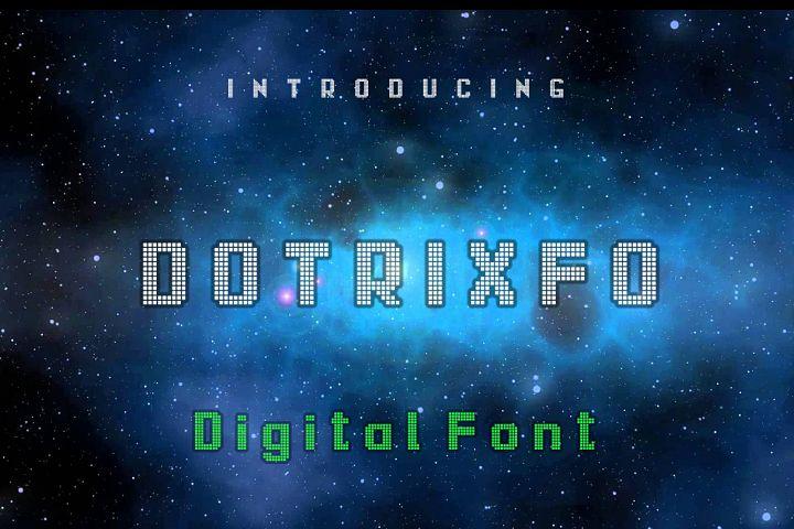 Dotrixfo Font