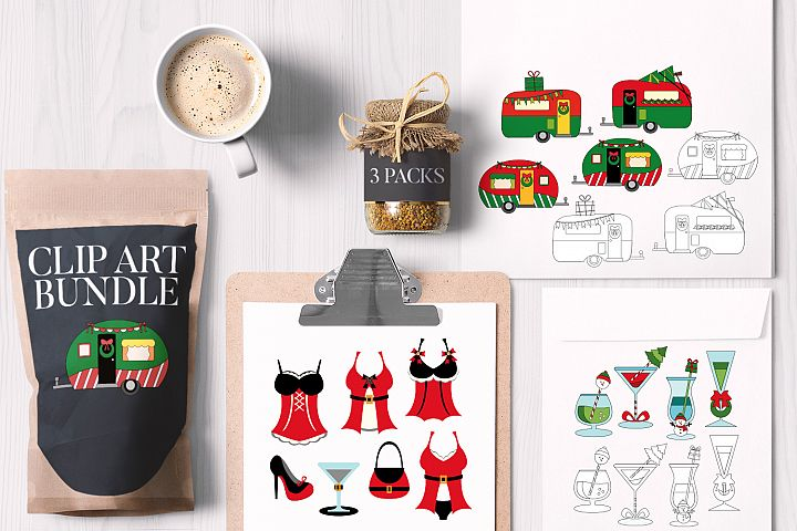 Christmas Party Bundle, Caravan Drinks Lingerie