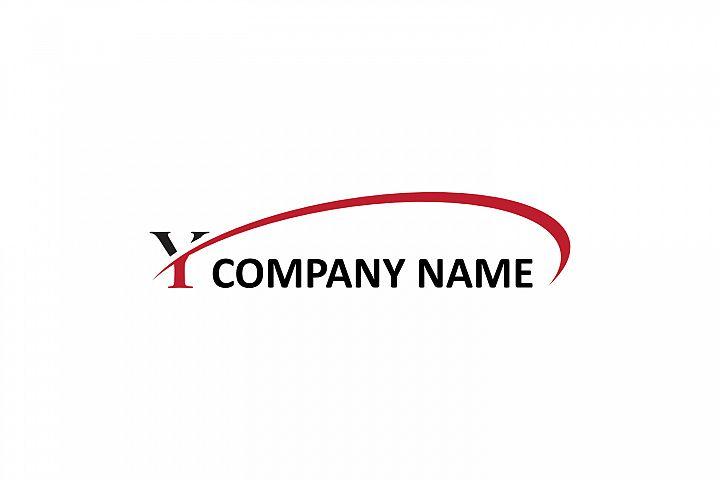 y letter swoosh logo
