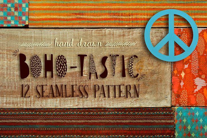 Boho-tastic set: 12 patterns • 85% OFF