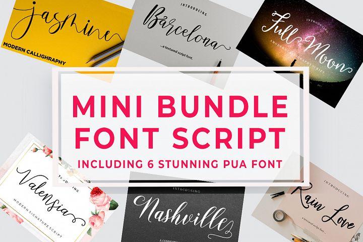 Mini Bundle Font Script