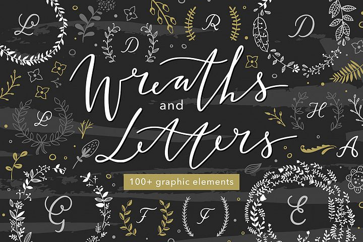 Wreaths and Letters