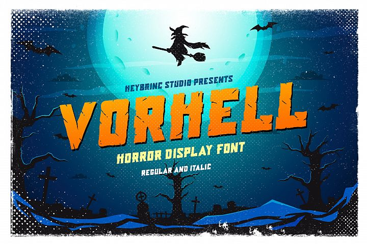 Vorhell Horror Font
