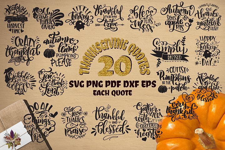 Thanksgiving bundle svg Gobble SVG Pumpkins svg Turkey