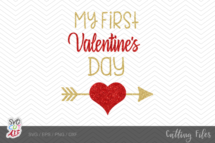 My 1st valentines Day svg, Valentine Boy svg