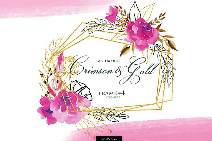 Crimson and Gold. Frame #4