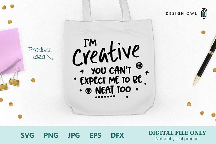 Im Creative - Funny Craft SVG file