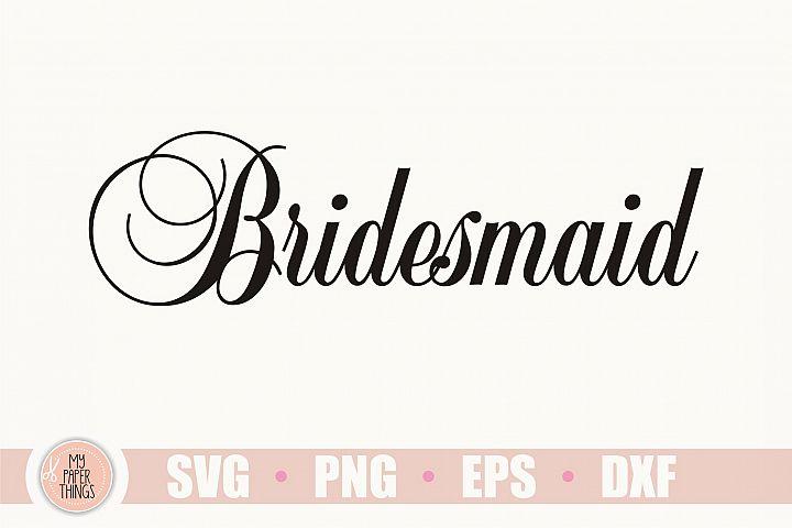 Bridesmaid svg, Wedding svg
