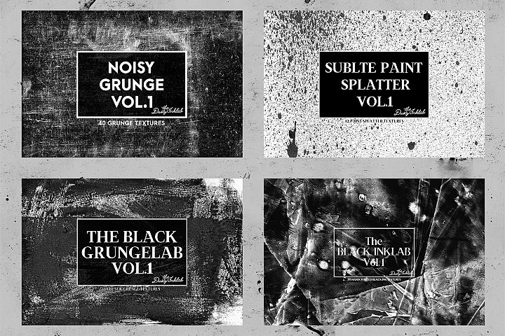 The Dusty Inklab Grunge Sample Pack example 4