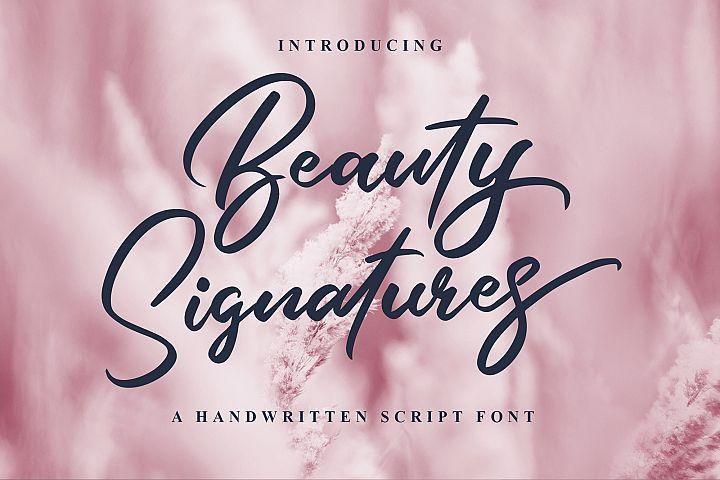 Beauty Signatures