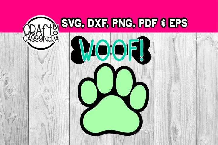 Dog paw and bone Woof!