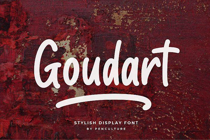 Goudart - Stylish Display Font