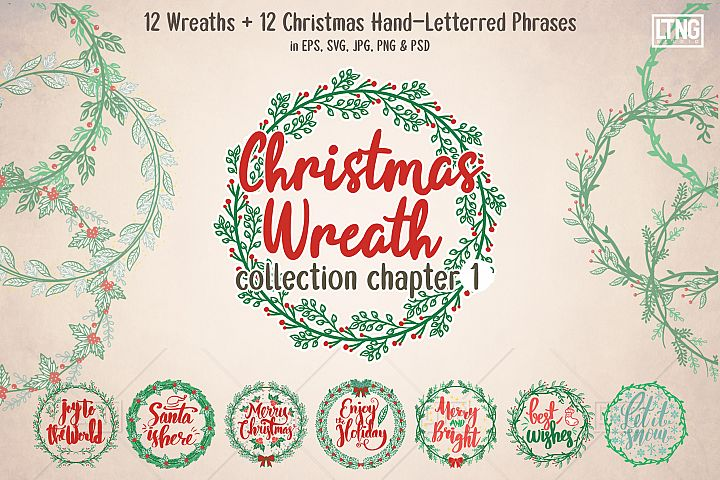 Christmas Wreaths & Phrases Ch. 1