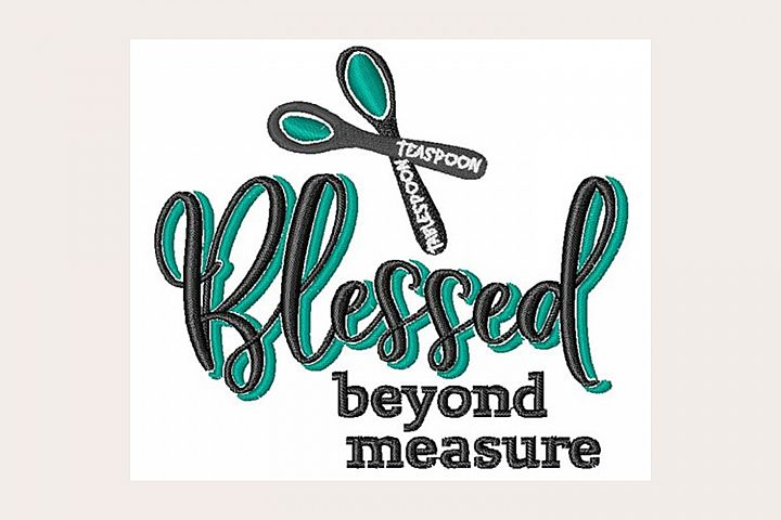 Blessed Beyond Measure - Machine Embroidery Design