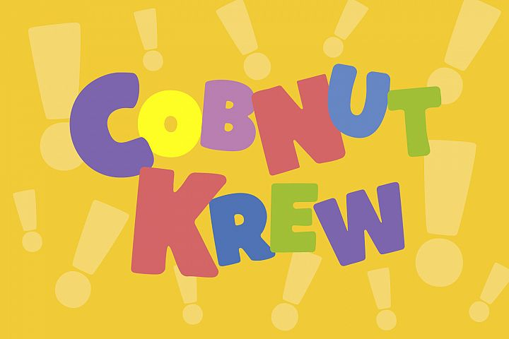 Cobnut - a nutty, bold and fun font example image 6