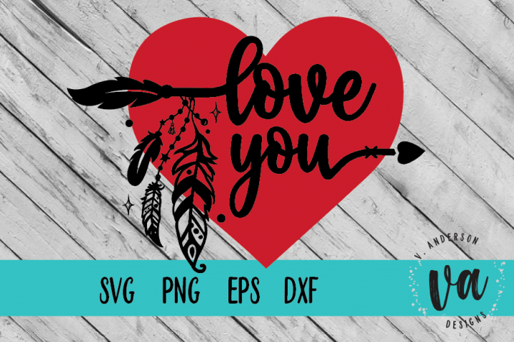 Love You SVG