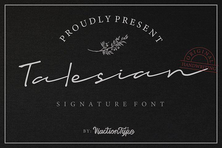 Talesian Signature
