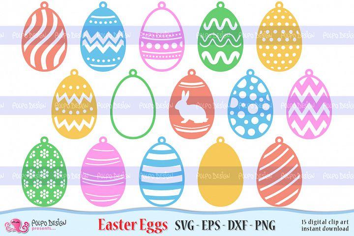 Easter Egg SVG, Eps, Dxf, Png. Easter Hanging Docor.