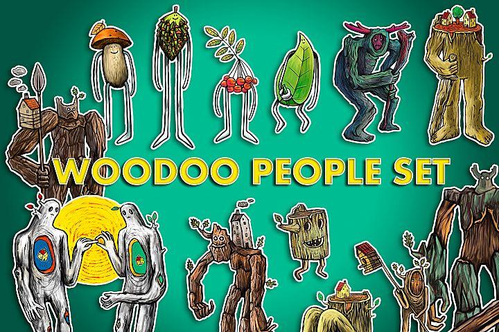WODOO PEOPLE SET