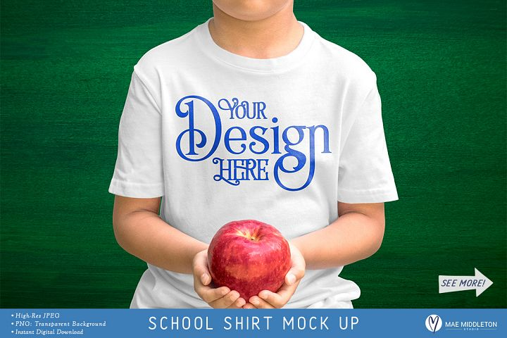 School Shirt Mock up