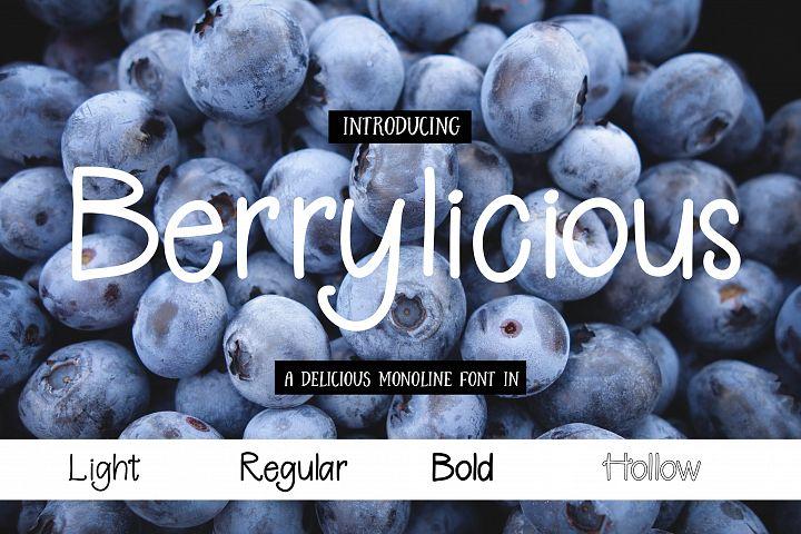 Berrylicious Font