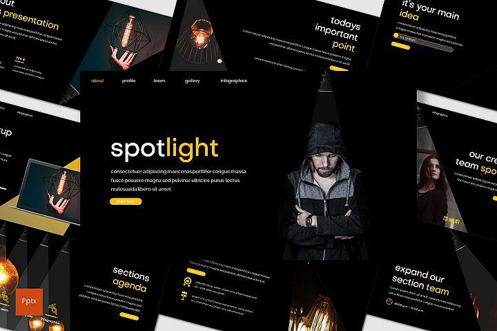 Spotlight - Powerpoint Template