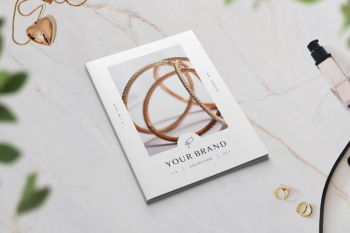 Fashion / Jewelry Lookbook Catalog A5