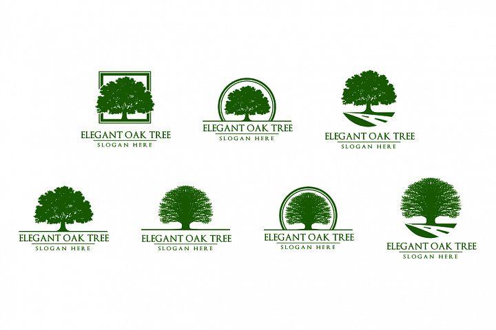 Green Oak Tree Logo Vol 1